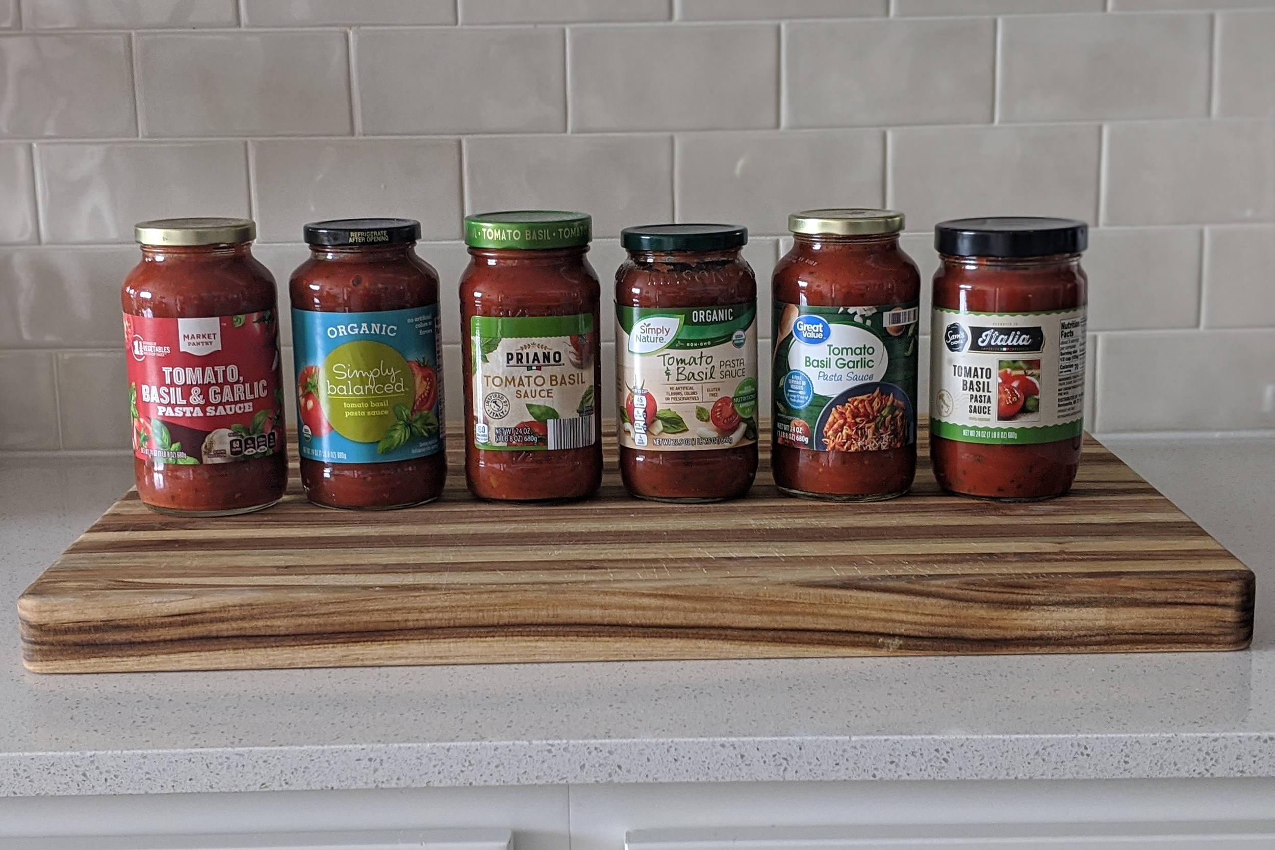 pasta sauce taste test 4