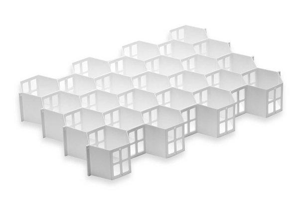 Real Simple Honeycomb Drawer Organizer