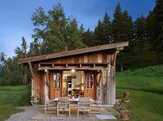 Reclaimed Timber Carriage House in Bozeman, MT