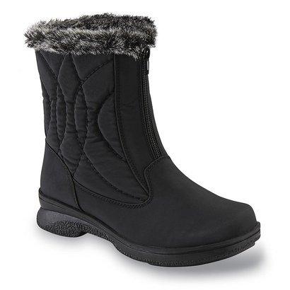 Athletech Women's Quade Black Winter Boot