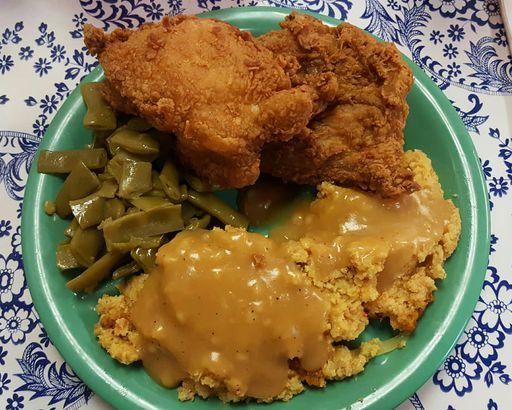 Fried Chicken, Martin's Restaurant in Montgomery