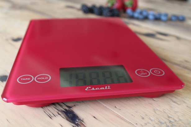 Escali 157RR Arti Glass Digital Kitchen Scale