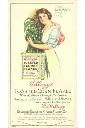 vintage Kellogg's ad