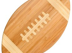 Totally Bamboo Football-Shaped Cutting Board