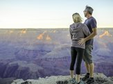 couple at South Rim Grand Canyon