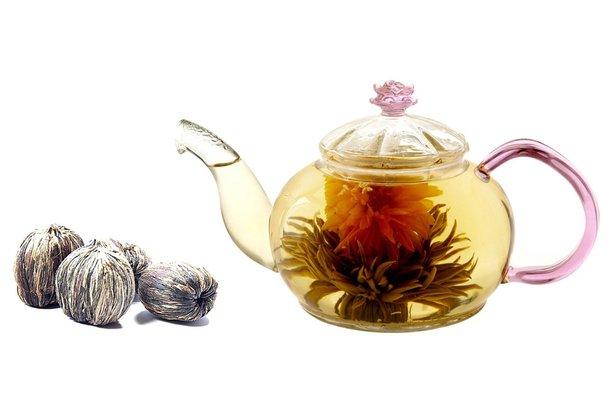 Flowering Teapot Set
