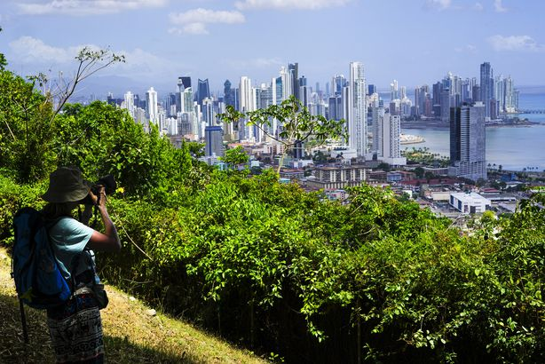 Panama City view from Ancon Hill, Panama