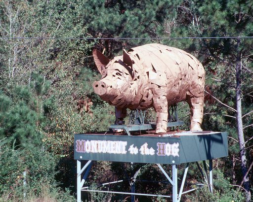 Monument to the Hog, Alabama