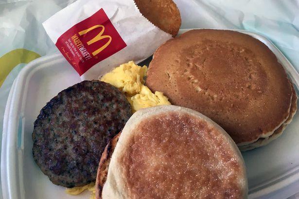 Mcdonald's, Big Breakfast With Hotcakes