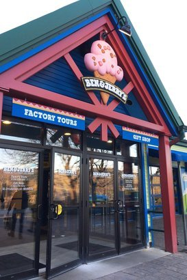 Ben & Jerry's in Waterbury, Vermont