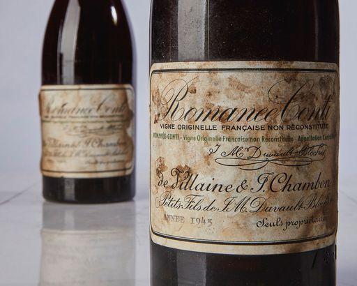 Bottle of Wine: $558,000