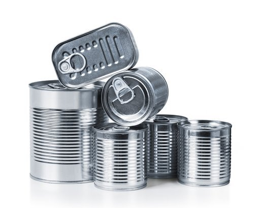 pile of cans of conserved food
