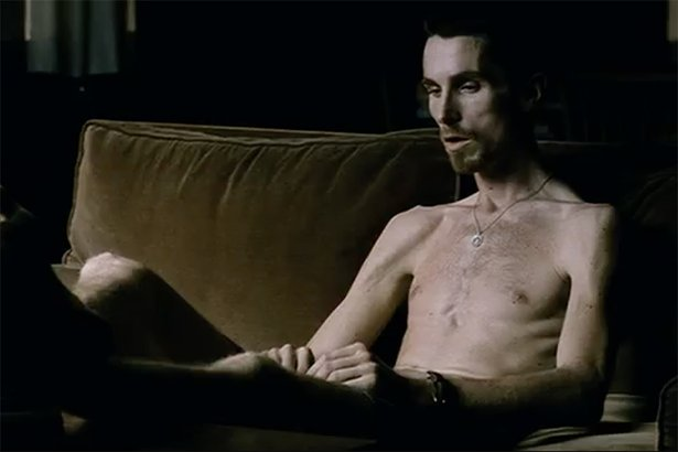 "Christian Bale as Trevor Reznik, ""The Machinist"" (2004)"