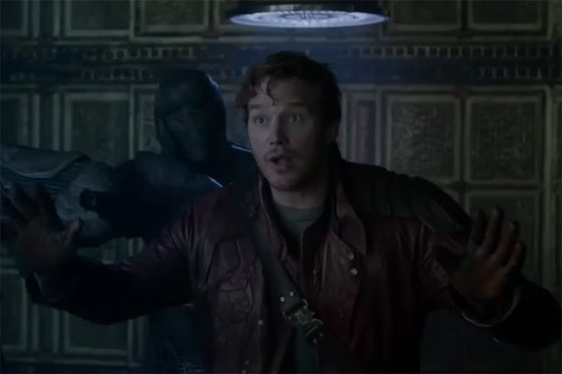 "Chris Pratt as Star-Lord, ""Guardians of the Galaxy"" (2014)"