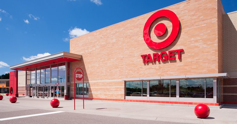 exterior of Target store