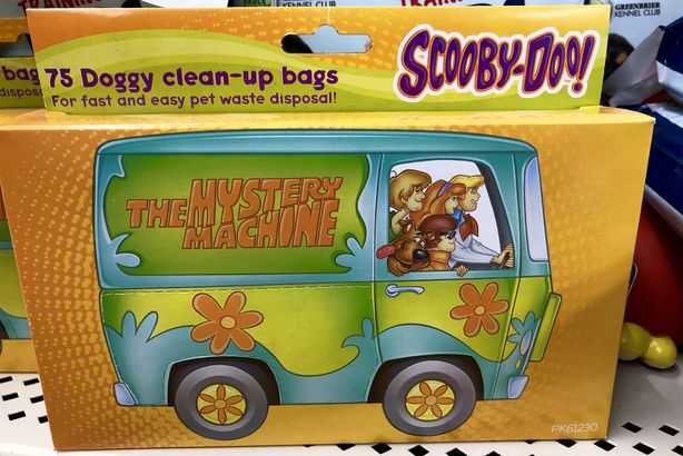 'Scooby Doo' Dog Clean-Up Bags