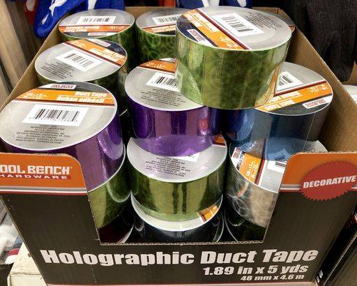 Holographic Duct Tape