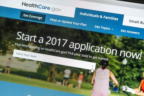 healthcare.gov application homepage