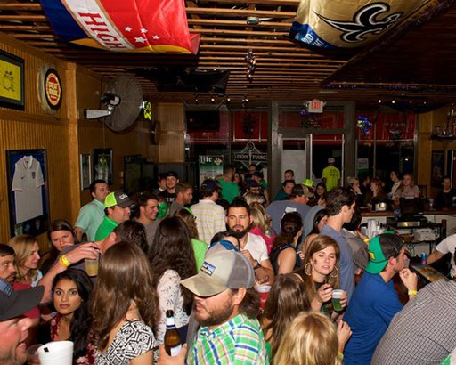 St. Patrick's Day at O'Daly's in Mobile, Alabama