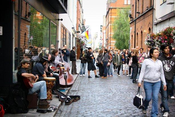 street of Dublin, Ireland