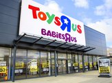 Front view of Toys 'R' Us and Babies 'R' Us store