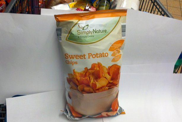 SimplyNature Sweet Potato Chips