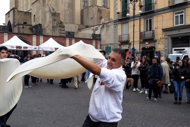 Napoli Pizza Village in Naples, Italy