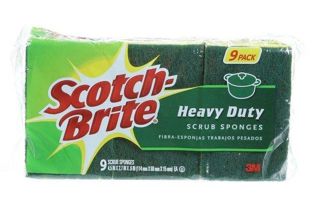 Scotch-Brite Heavy-Duty Scrub Sponge (9-Pack)