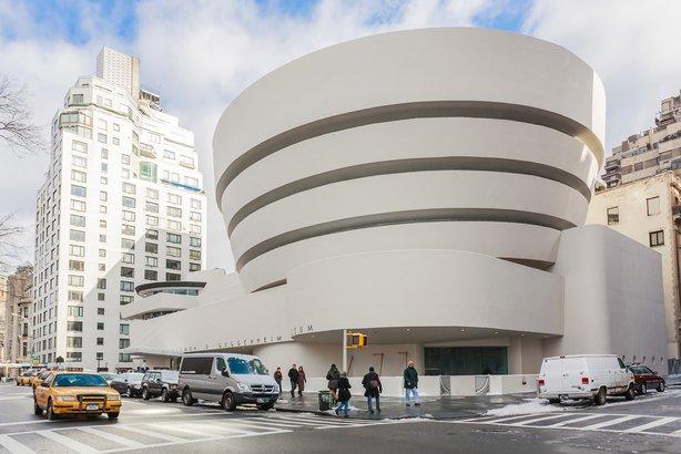 Guggenheim Museum in New York, NY