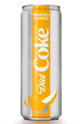 Twisted Mango Diet Coke