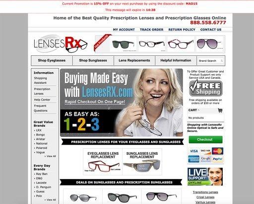 online glasses cheap  18 Places to Buy Cheap Prescription Glasses Online