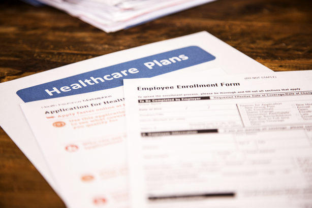 Employee health insurance papers
