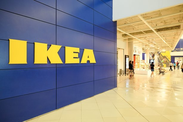 opening of Ikea store