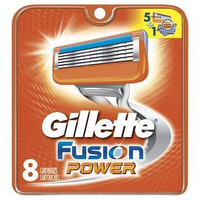 gillette fusion power usa blades ostrza replacement america peiliukai still zapasowe cuchillas recambios ricambio lame cheapism golenia 8szt maszynki ersatzklingen