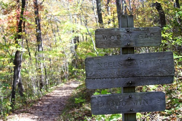 distances along the Appalachian Trail, Blood Mountain