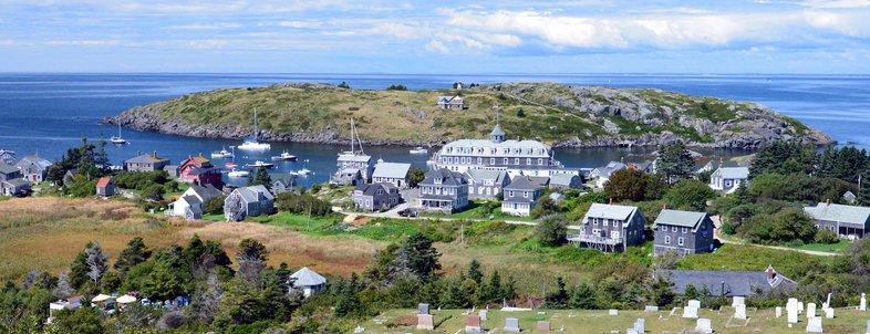 Monhegan Island in Maine