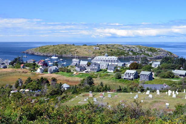 Monhegan Island in Maine