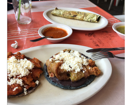 Oaxacan food from Itanoni restaurant