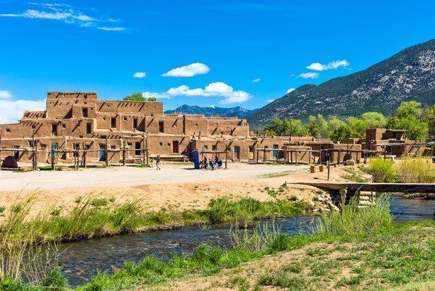 Taos Pueblo in Taos Pueblo, New Mexico