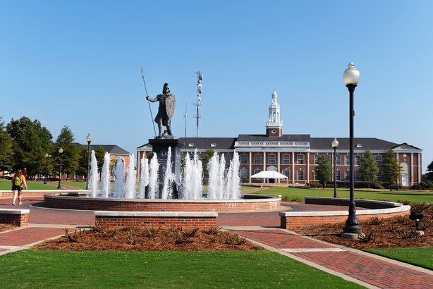 campus at Troy University