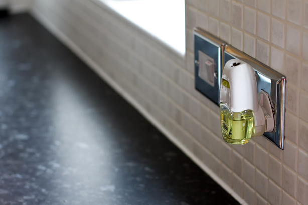 Air freshener in a kitchen