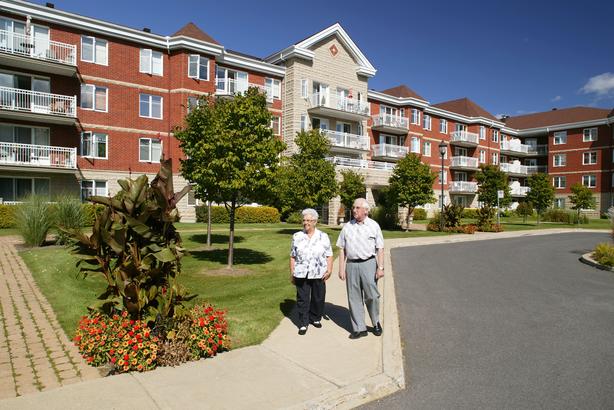 Senior living center