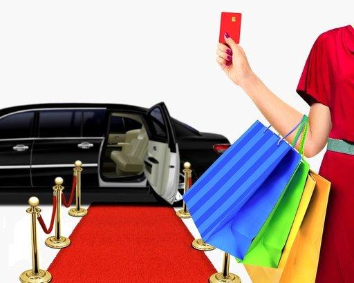 Celebrities Shopping