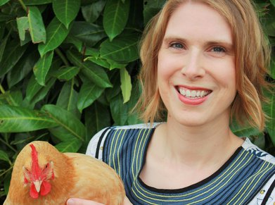 Sarah Cook, founder of Sustainable Cooks
