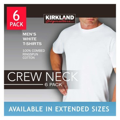 8b9b188eee185 kirkland signature men s crewneck t-shirts