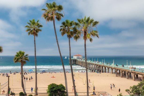 Manhattan Beach In California
