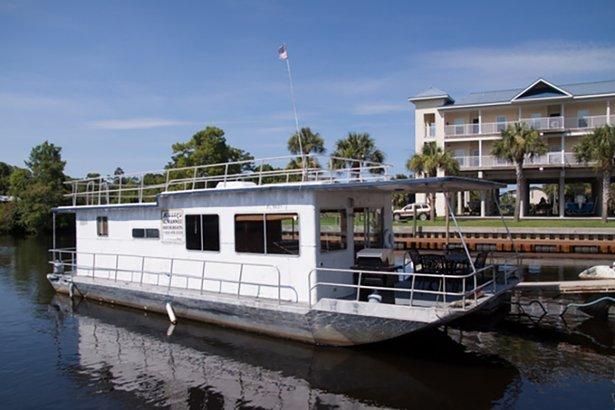 Gateway Marina At Suwannee River In Florida