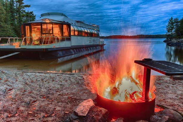 Ebel S Voyageurs Marina At National Park In Minnesota