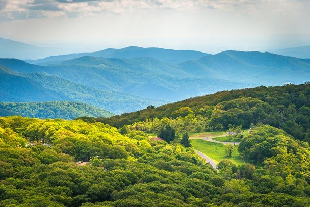 Skyline Drive in Augusta County, Virginia