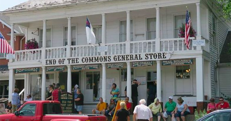 End of the Commons General Store, Mesopotamia, Ohio